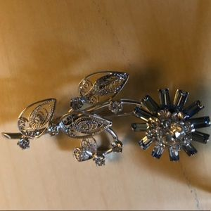 Vintage Carl Art sterling silver brooches